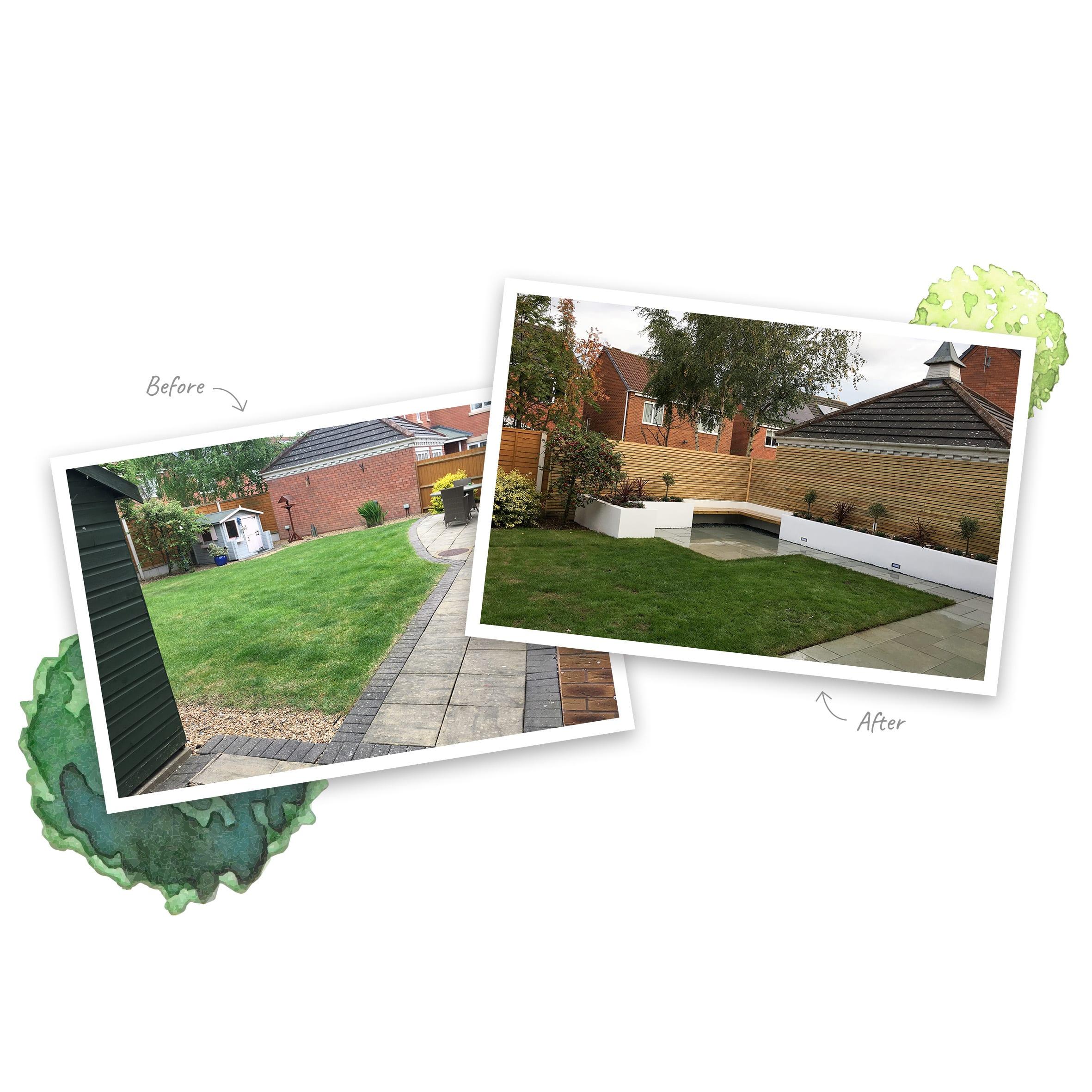 Garden Design service Shrewsbury