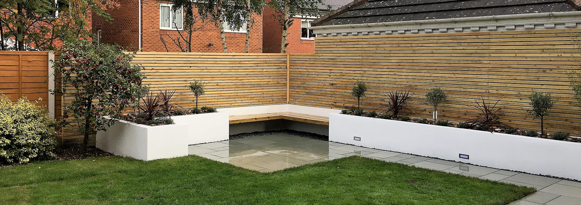 modern garden design shrewsbury