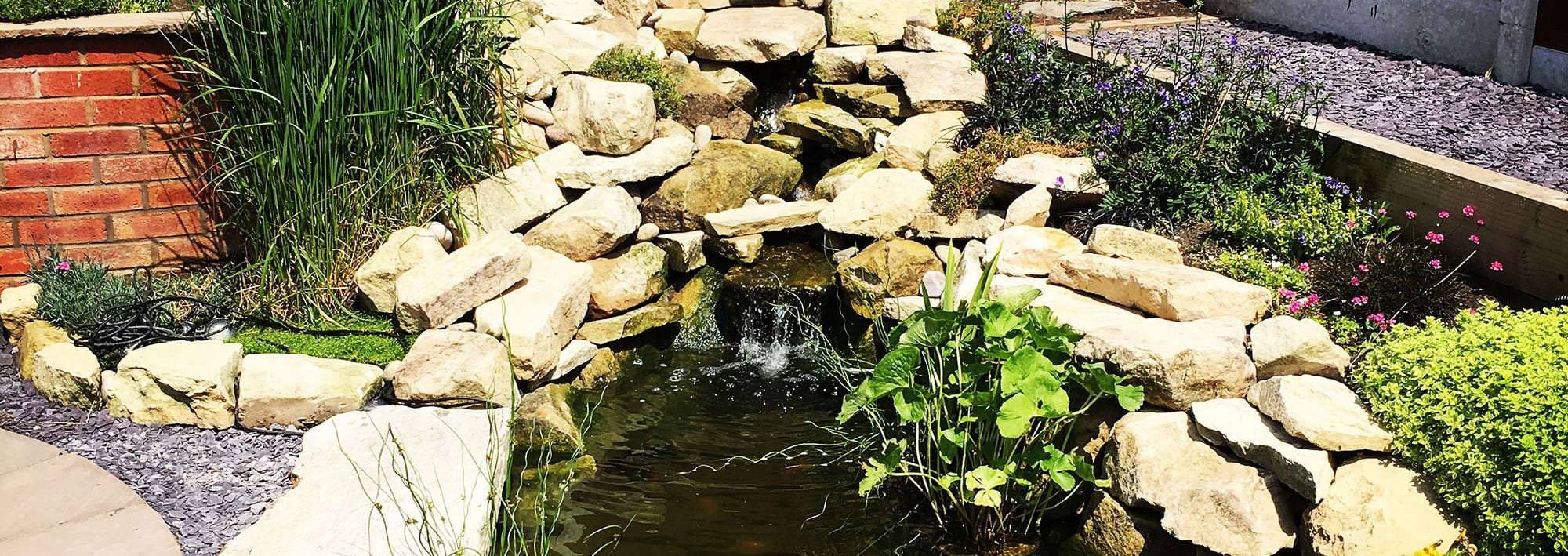 water features Shrewsbury